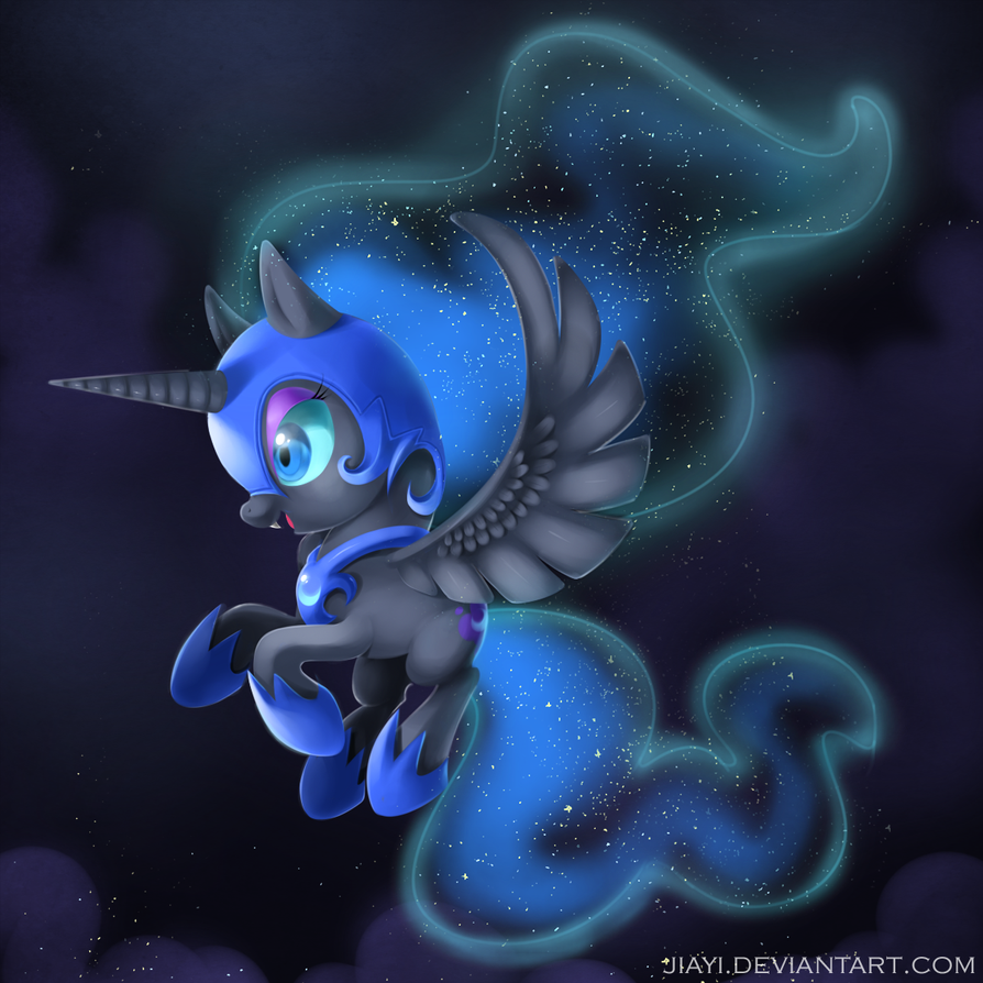 Chibi Night Mare Moon by Jiayi