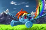 Rainbow Dash used Aerial Ace