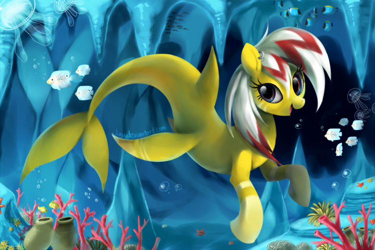 Commission: seapony by Jiayi
