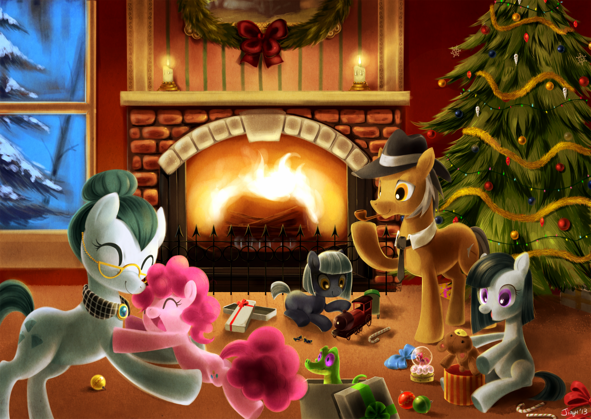 Christmas with the Pies by Jiayi