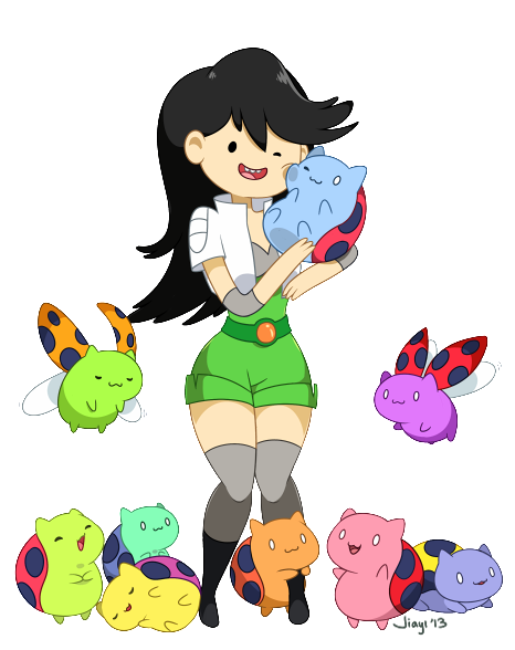 Beth and Catbug by Jiayi