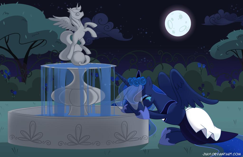 Luna won't you cry for me by Jiayi