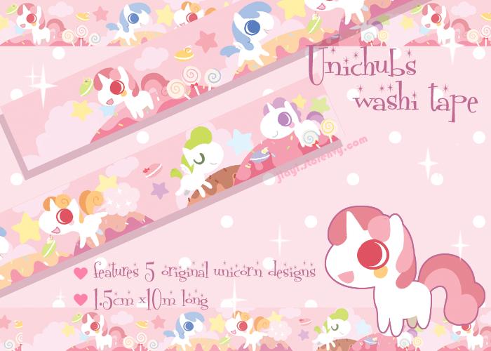 Unipoop Washi Tape Preview by Jiayi