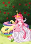 Princess Bubblegum and Lady Rainicorn