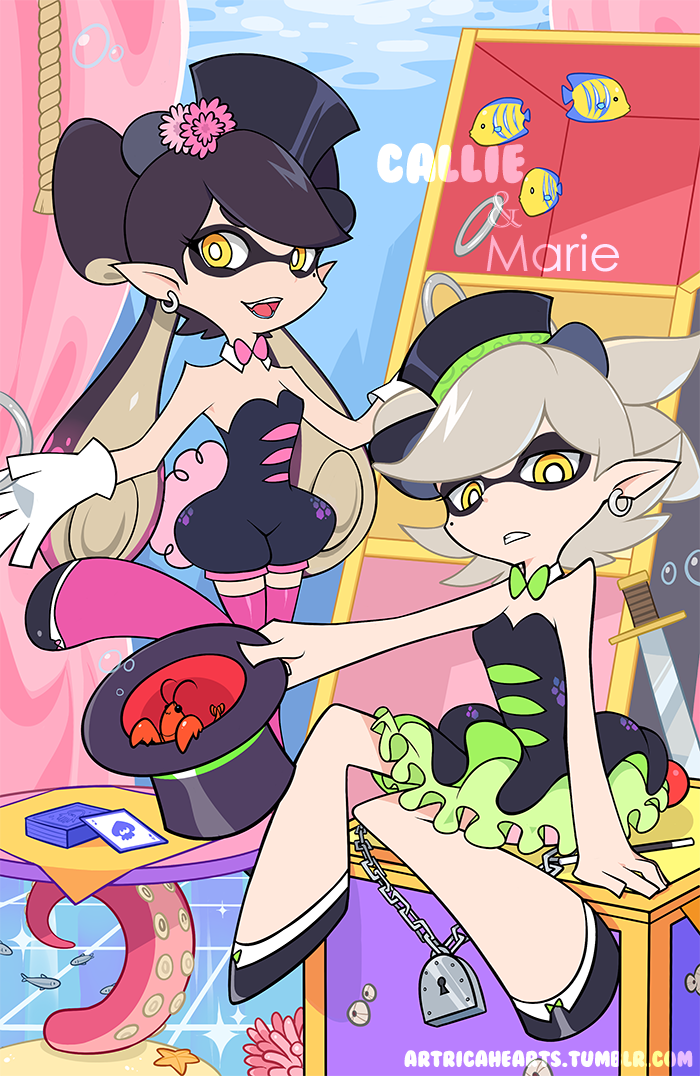 Cali and Marie