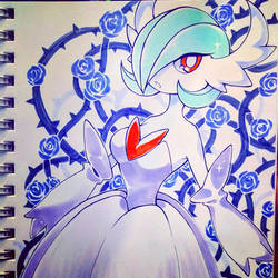 Mega Gardevoir in Copics