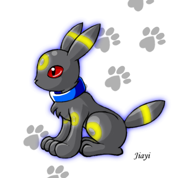 Chibi Umbreon source  http   jiayi deviantart com art Chibi-UmbreonEspeon And Umbreon Chibi