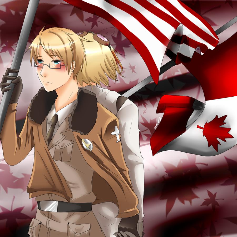 North America Brothers by Ilovehikarukaoru