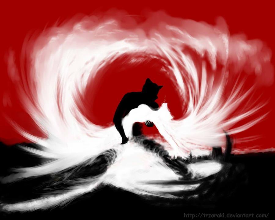 Shadow and phantom. by TRZaraki