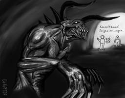 Death Claw. by TRZaraki