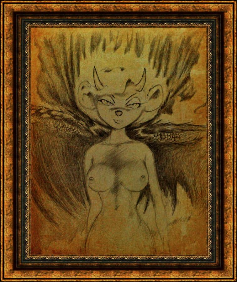 Fallen Angel (mouse). by TRZaraki