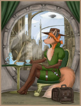 Fox and tea