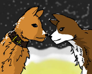 DOG LOVE by MissMandau