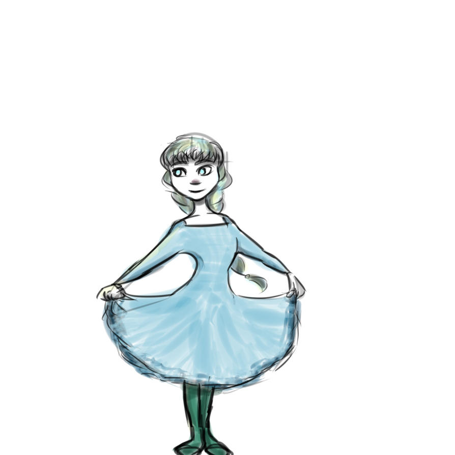 Disney Style Practice N2 by CrazyCarry
