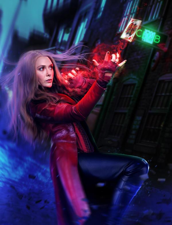 Avengers Infinity War Scarlet