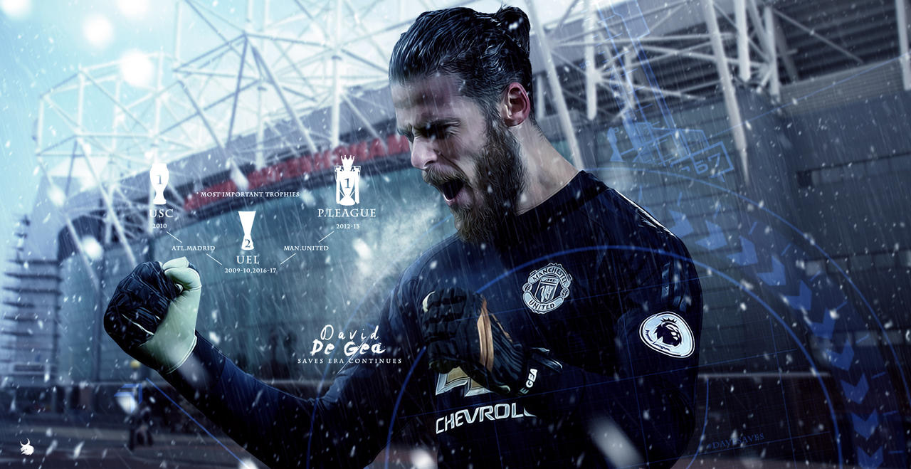 David De Gea Manchester United Wallpaper 2018 By ArtsGFX99