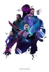 Avengers: 4 2019 - Fan Poster by ArtsGFX99