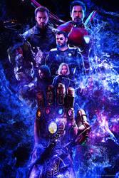 Avengers: 4 2019 - Poster by ArtsGFX99