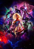 Avengers: 4 Endgame - Poster