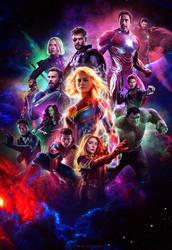 Avengers: 4 Endgame - Poster by ArtsGFX99