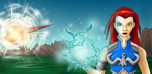 TeelaNa's Power 2 colored by Deltara