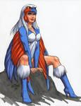 Sorceress 18 by Scott Dalrymple