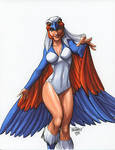 Sorceress 19 by Scott Dalrymple
