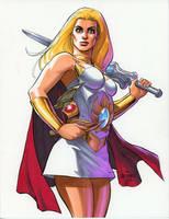 She-ra by Scott Dalrymple by Deltara