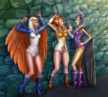 Castle Grayskull Dungeons Commission By Ladykraken