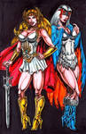 She-ra and the Sorceress by Peter Temple
