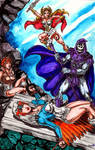 Skeletor Triumphant by Peter Temple by Deltara
