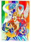 Princess of Power Group by Ed Silva by Deltara