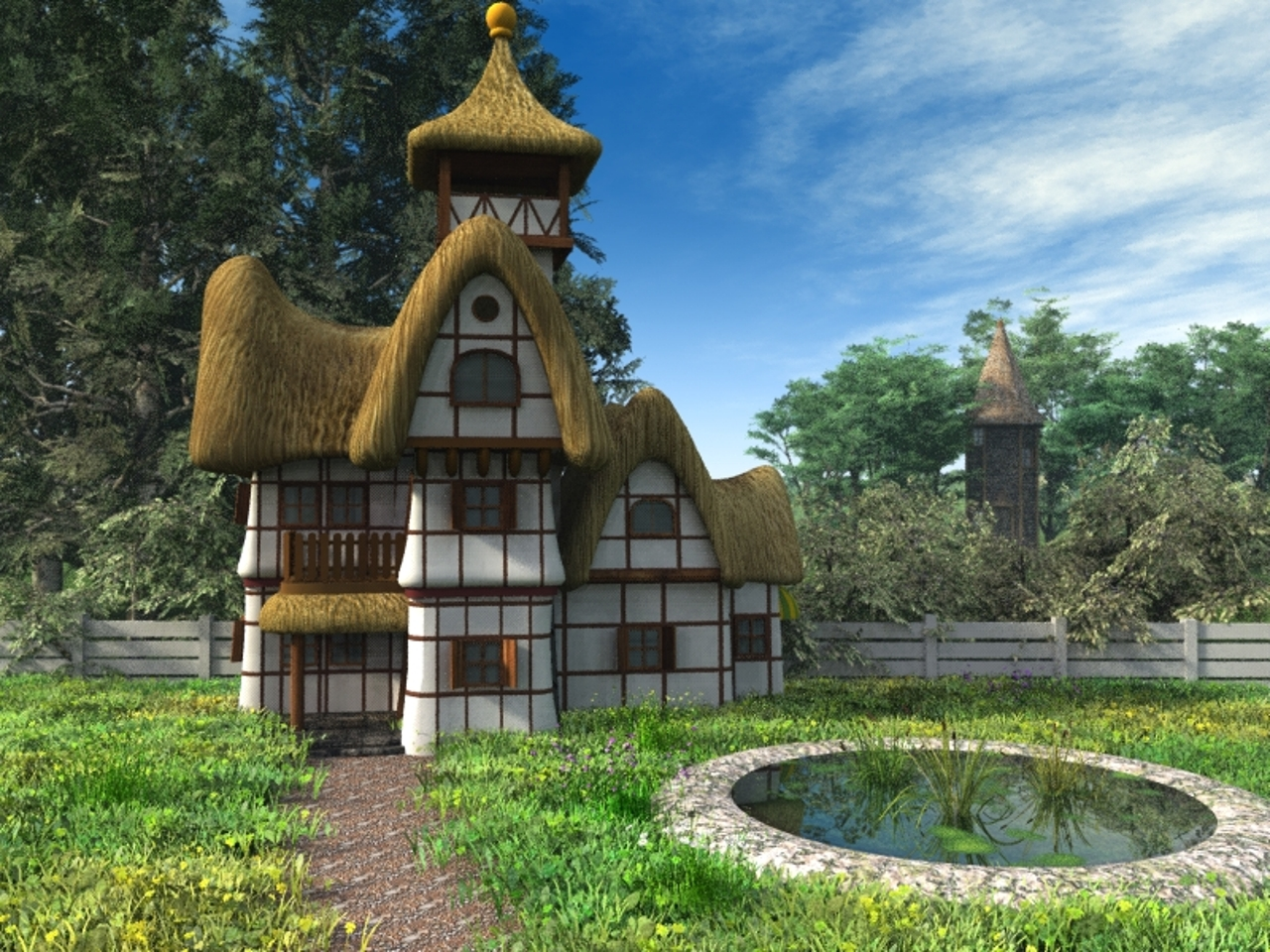 Small Country Cottage Plans Fairytale Cottage By Hbkerr On Deviantart