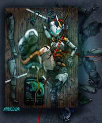 Modified fembot by nukeduke