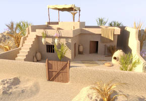 Ancient Egyptian House