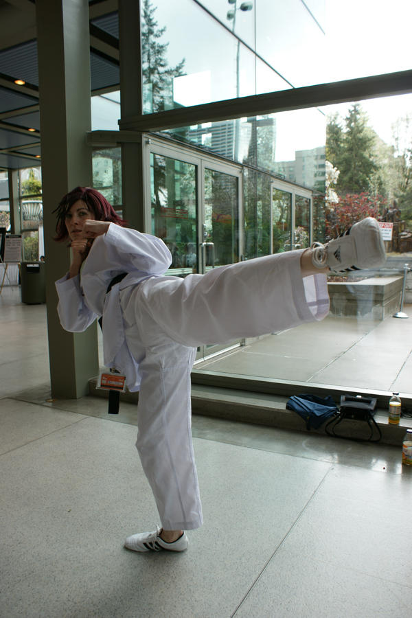 Kisara Tae Kwon Do by Cosmic-Empress
