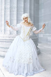 The White Queen: Cosplay, Alice in Wonderland by Cosmic-Empress