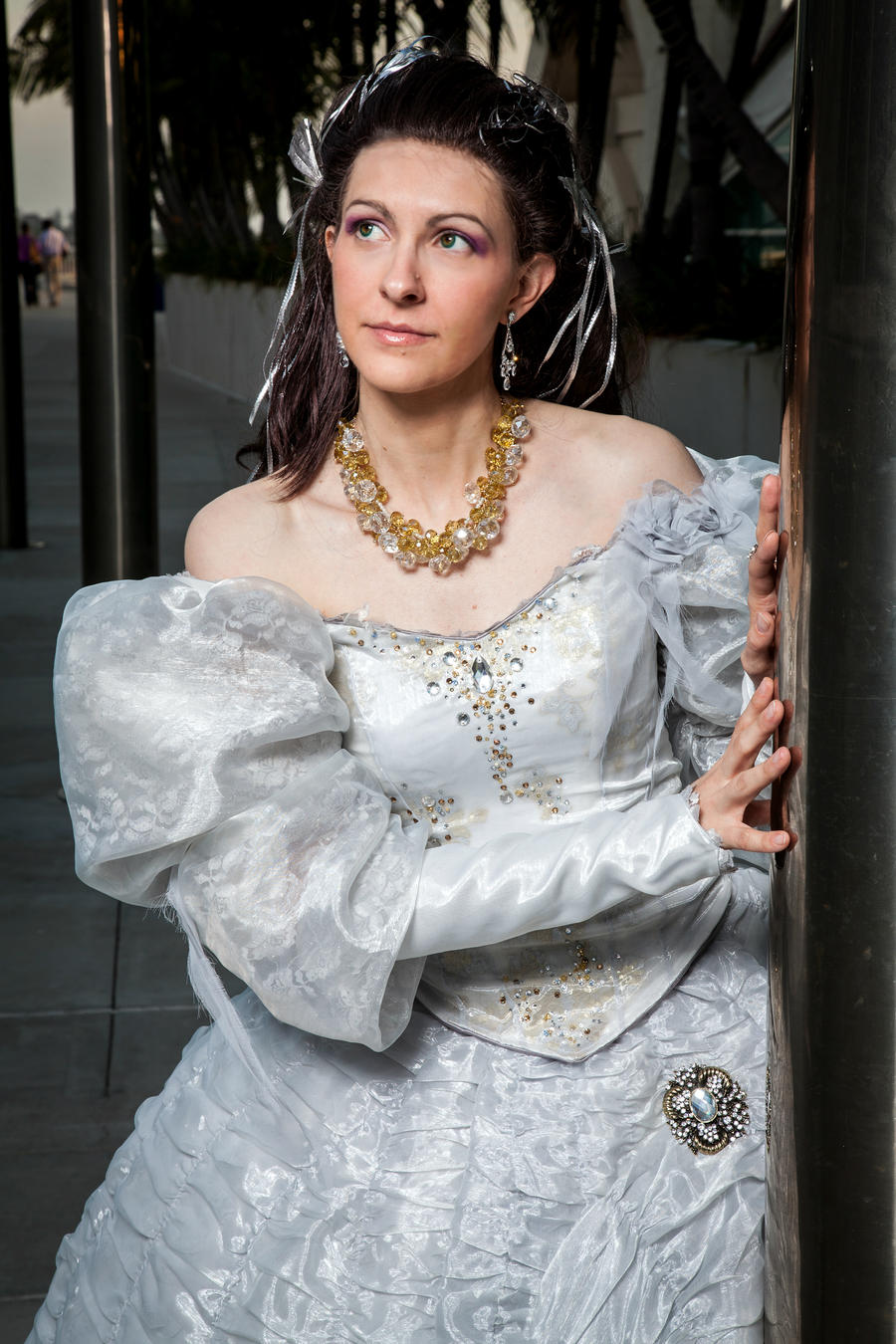 Labyrinth, Sarah by Cosmic-Empress on DeviantArt Labyrinth Movie Sarah Dress