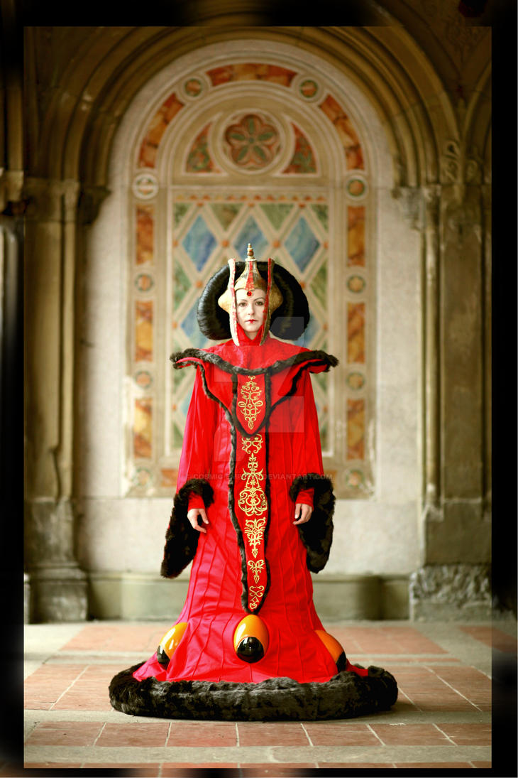 Queen Amidala, Starwars by Cosmic-Empress