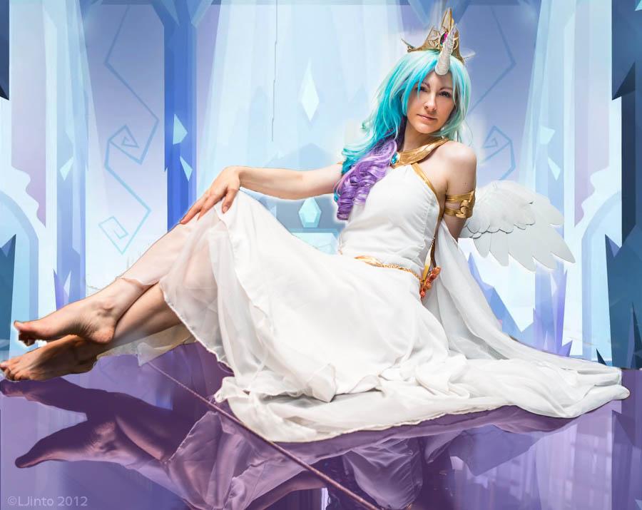 Pony In Castle by Cosmic-Empress