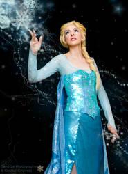 Let it Go, Elsa Cosplay by Cosmic-Empress