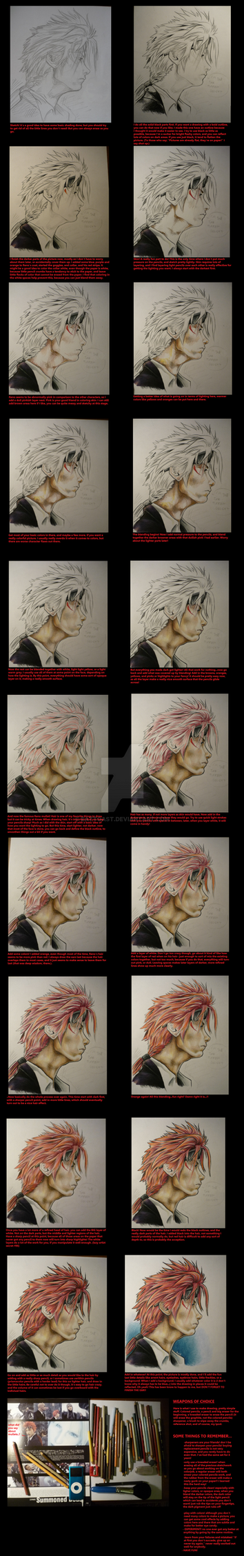 colored pencil tutorial by EatToast