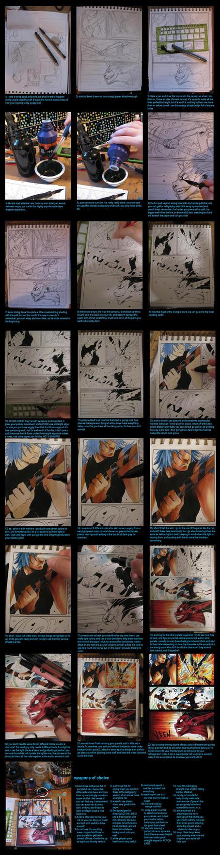 mega manga tutorial by EatToast