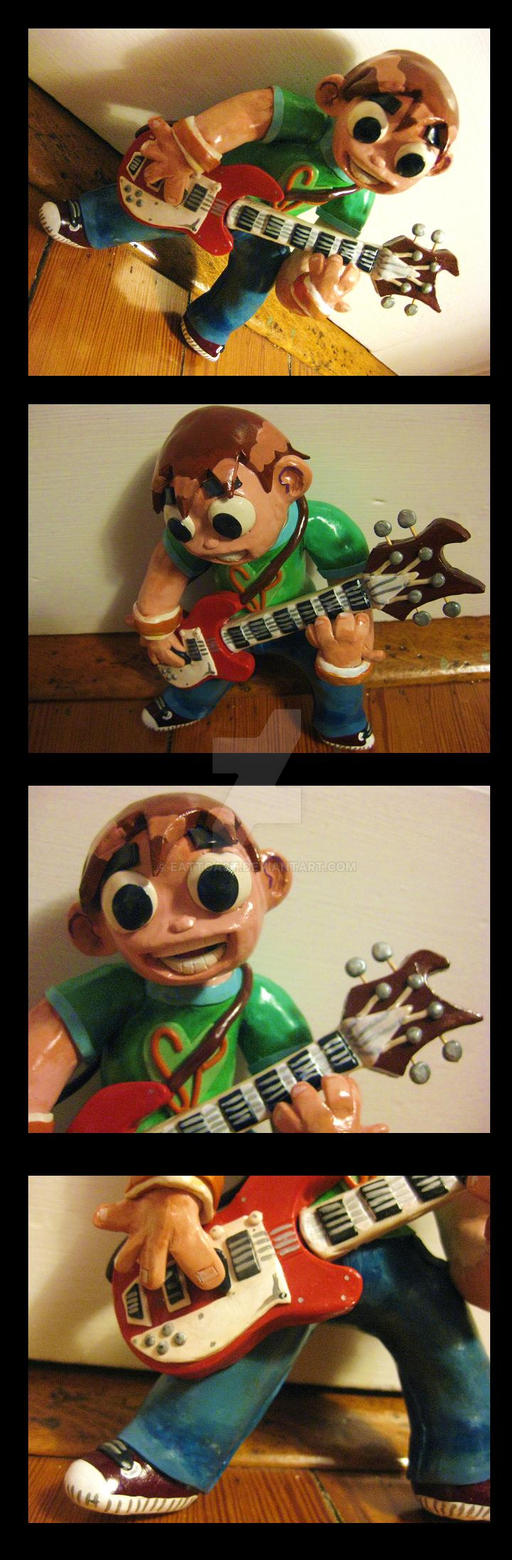 Scott Pilgrim Toy by EatToast