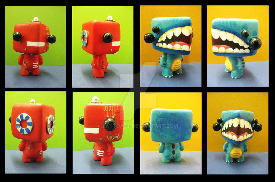 Vinyl Toys by EatToast