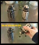 Dalek Salt and Pepper Shakers