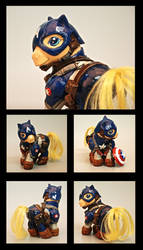 Captain America Pony by EatToast