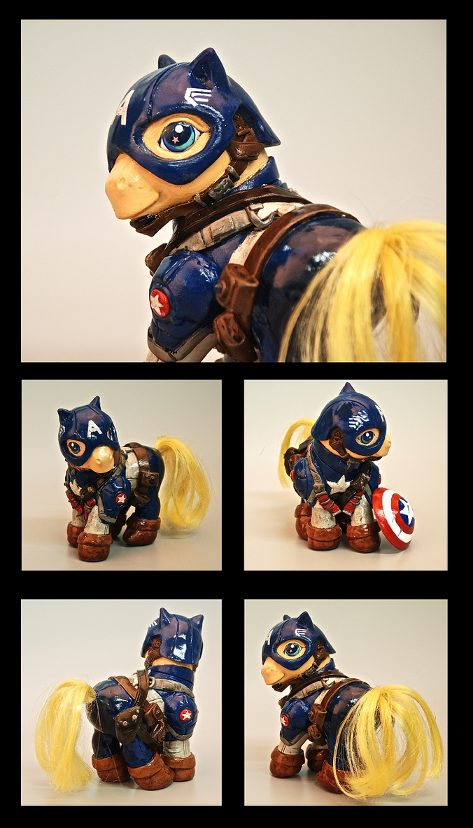 Captain America Pony by EatToast