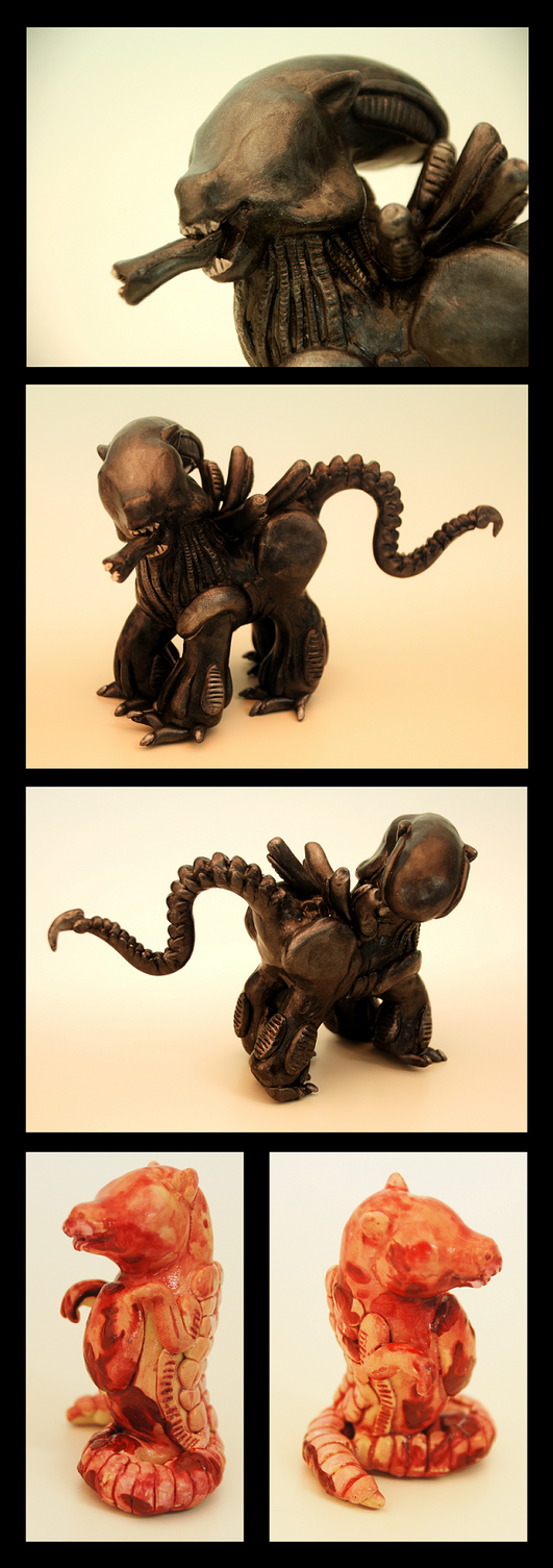 My Little Xenomorph by EatToast