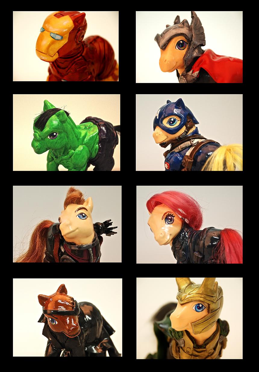 My Little Avengers by EatToast